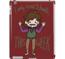 Spencer Reid-Books iPad Case/Skin