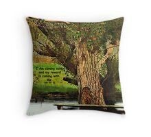 Tree Of Life (CARD) Throw Pillow