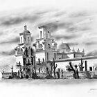 San Xavier Mission, Tucson, Az. by J.D. Bowman