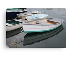 Kennebunkport Row Boats Canvas Print