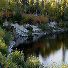 Gravel River Hwy 17 NW Ontario by loralea