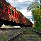 """""""The Siding Track At Bartlett"""" - Conway Scenic RR Series - © 2009 featured by Jack McCabe"""