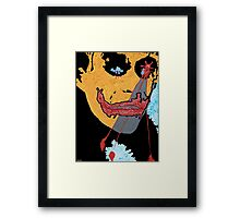 the Joker number seven Framed Print