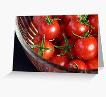 cherry reds Greeting Card