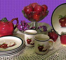 Country Morning Tea by Linda Miller Gesualdo