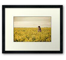 Meaghan Alone Framed Print