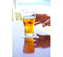 Dave's beer Photographic Print