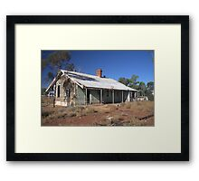 Headmasters Quarters Framed Print