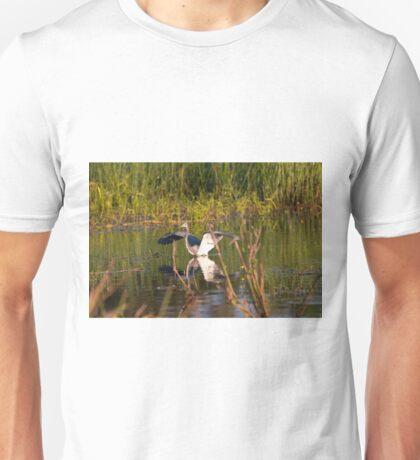 showing off Unisex T-Shirt