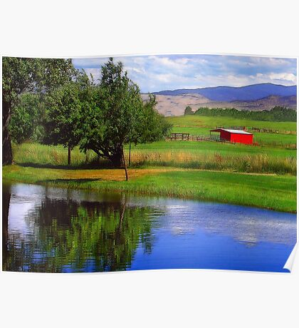 Nevada Farmlands Poster