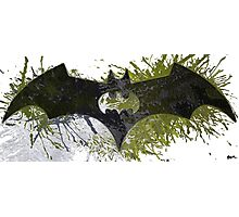 The Batman signal number eight Photographic Print