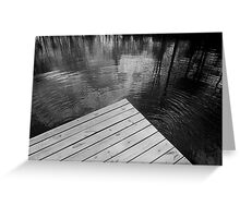 The Spirit of Kripplebush Pond Greeting Card