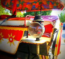 Carriage lamp...Corfu town by fruitcake