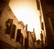 The lanes of old Corfu Town by fruitcake