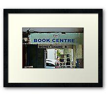 Book Centre Framed Print