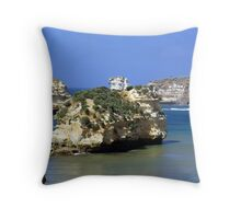 Bay of Martyrs Great Ocean Road Throw Pillow