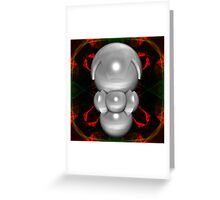 Pearl Personal Service-Droid Greeting Card