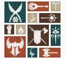 D&D Class Symbols by MattAbernathy