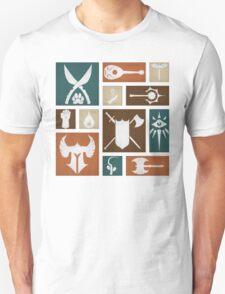 D&D Class Symbols T-Shirt