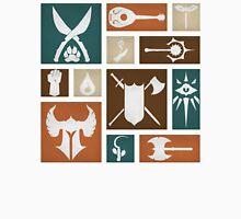 D&D Class Symbols Unisex T-Shirt