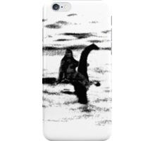 Bigfoot and the Loch Ness Monster team-up confirmed? iPhone Case/Skin