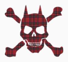 Tartan Devil T-Shirt by simpsonvisuals