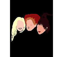 Sanderson Sisters Photographic Print