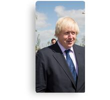 Boris Johnson MP Canvas Print
