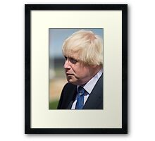 Boris Johnson MP Framed Print