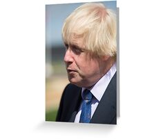 Boris Johnson MP Greeting Card
