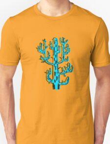 Cactus azul Unisex T-Shirt