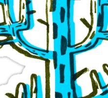 Cactus azul Sticker