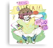 Raging Queer Canvas Print