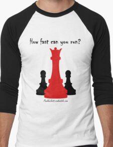 The Red Queen Men's Baseball ¾ T-Shirt