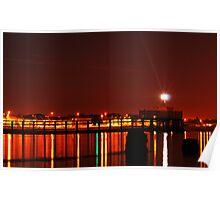 Harbour Lights Poster