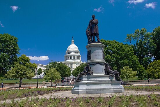 James A. Garfield Monument by kathy s gillentine