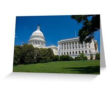 U.S. Capitol Building Greeting Card
