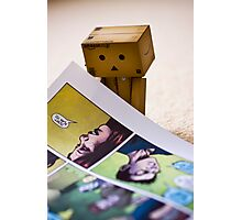 comic danbo Photographic Print