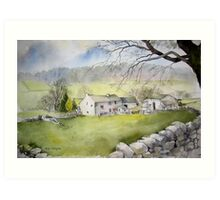 Appletreewick Farm Art Print