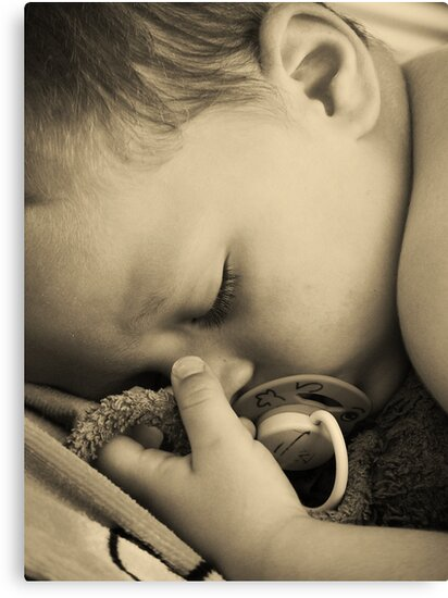 SLEEPING BABY (PEACE) by Scott  d'Almeida