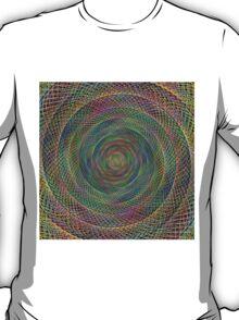 Multicolor fractal T-Shirt