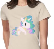 Chibi Celestia Womens Fitted T-Shirt