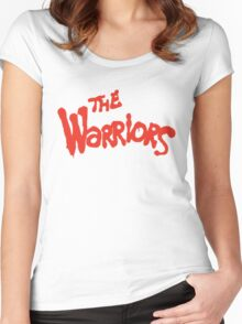 Warriors Come Out to Play  Women's Fitted Scoop T-Shirt