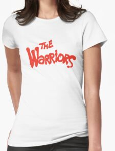 Warriors Come Out to Play  Womens Fitted T-Shirt