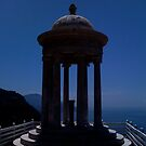 majorcan temple of serenity by hilarydougill