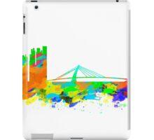 Taiwan Skyline in water colours iPad Case/Skin