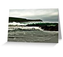 The Big Wave Greeting Card