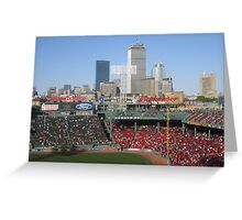 The Prudential from Fenway Greeting Card