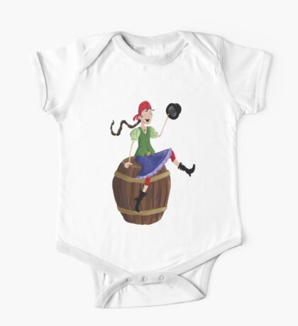 Pirate girl Kids Clothes