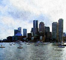 Boston Harbor  by Pearle